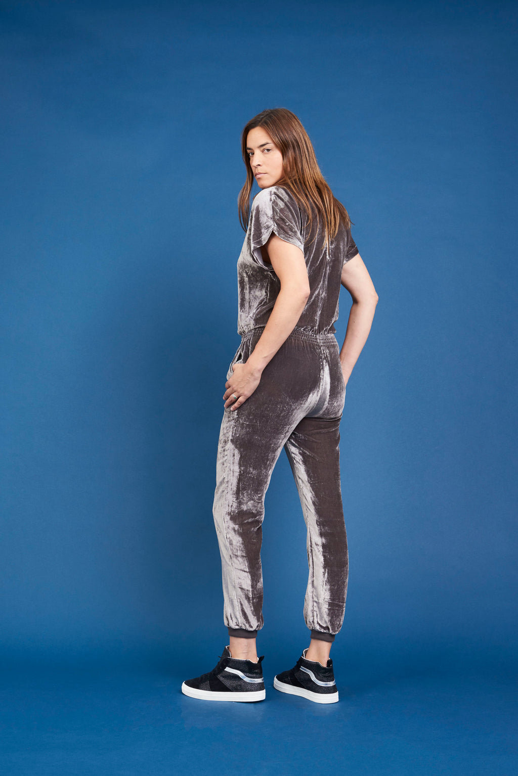 Dixie Jumpsuit - Grey