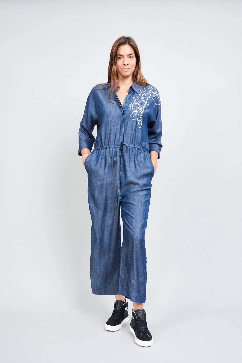 Jessie Jumpsuit - Denim