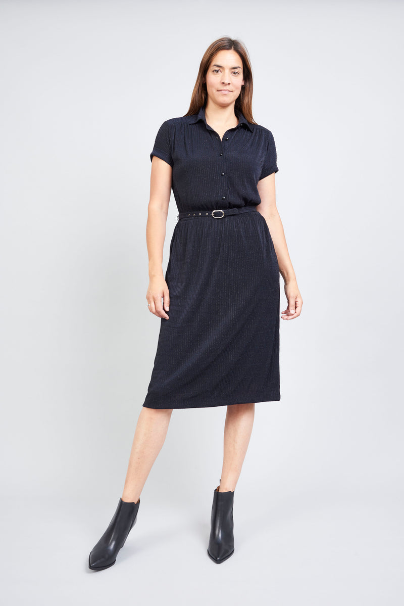 Lou Lou Dress - Navy