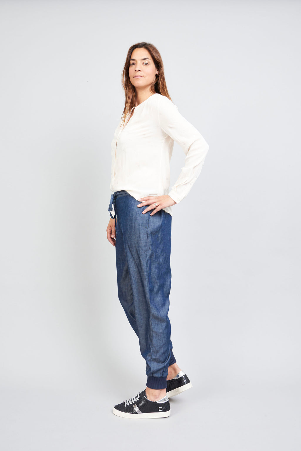 Jessy Trousers - Denim