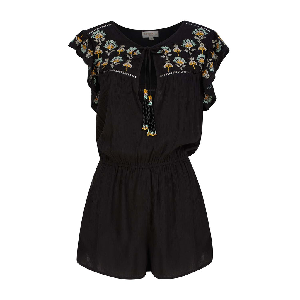 Paloma Playsuit - Black