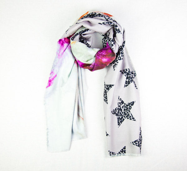Pink Marble Scarf