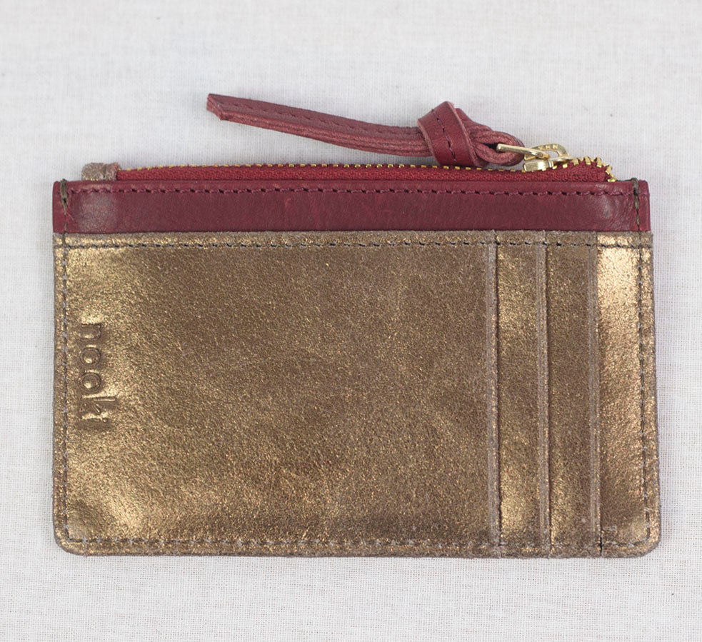 RUBIN CARD HOLDER - BRONZE