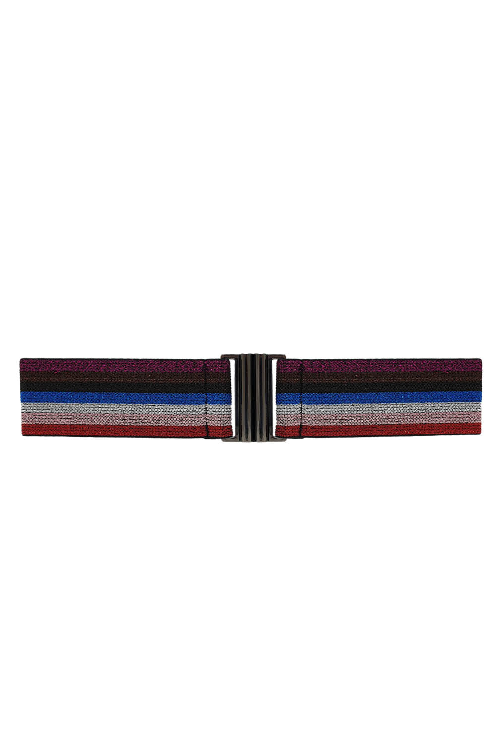 Lurex Elastic Belt - Rainbow