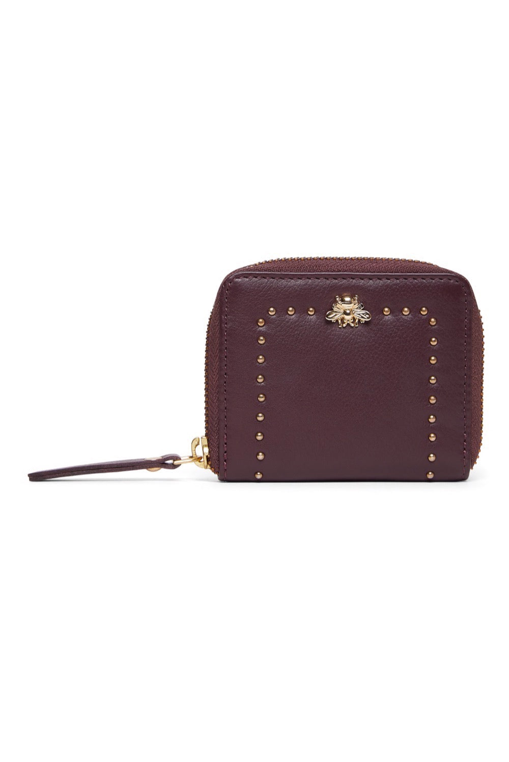 Sophia Coin Purse - Burgundy