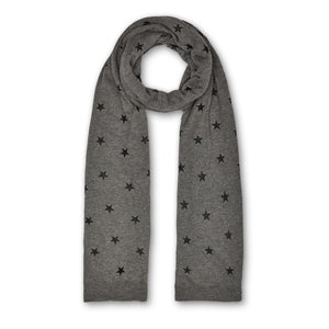 Star Scarf - Grey