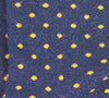 Dottie Sock - Navy/Gold