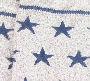 Starry Stock - Grey/Navy
