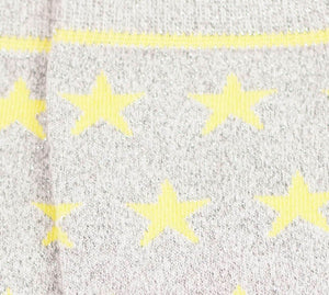 Starry Stock - Grey/Yellow