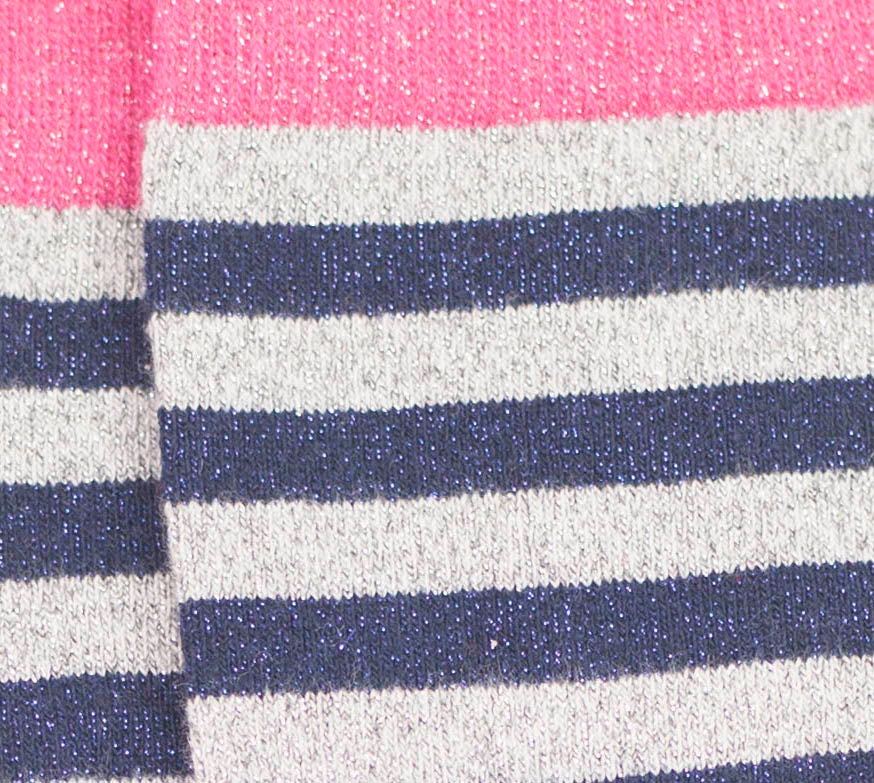 Stripy Stock - Pink/Navy