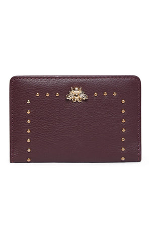 Tucker Card Holder - Burgundy