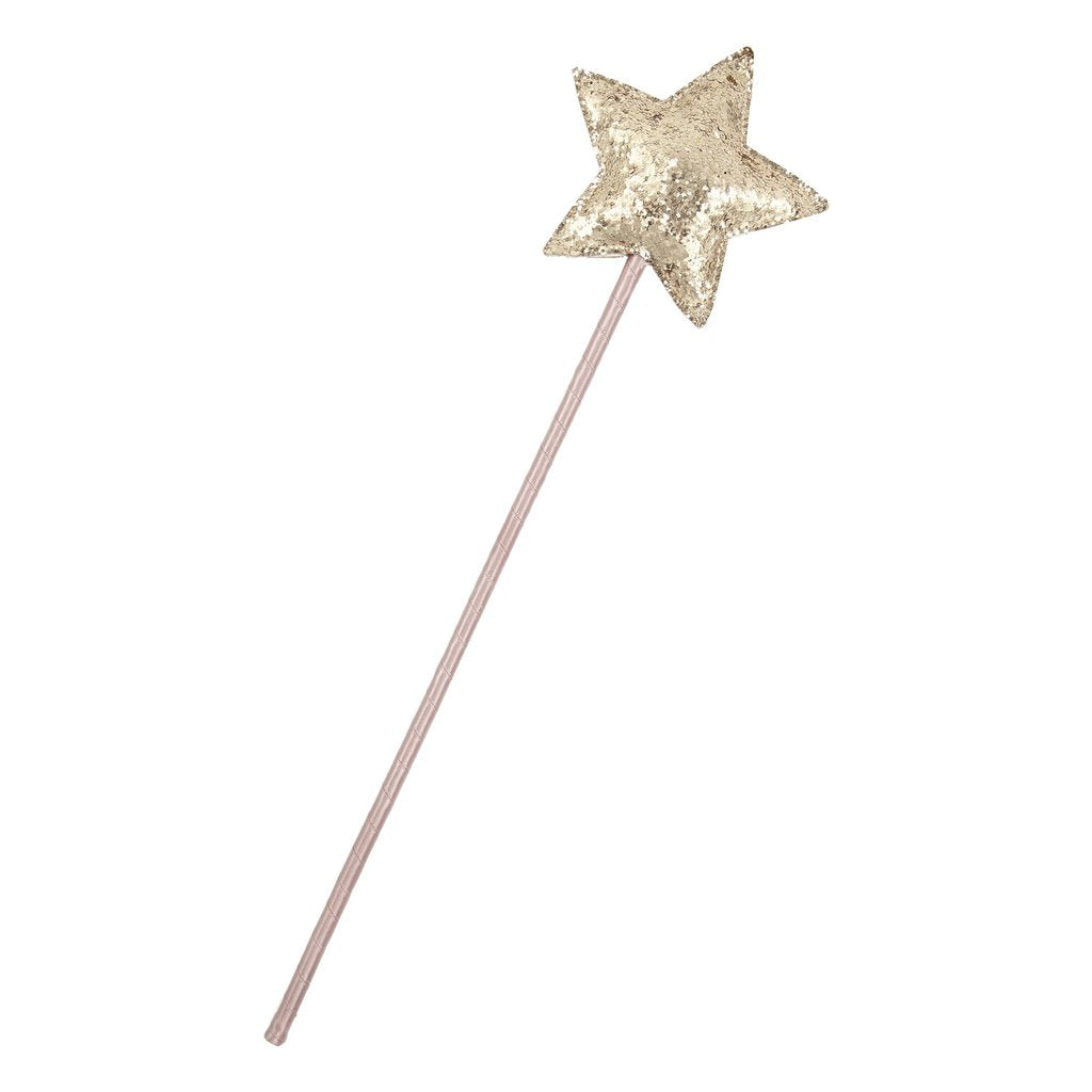 Rose Fairy Wand - Gold