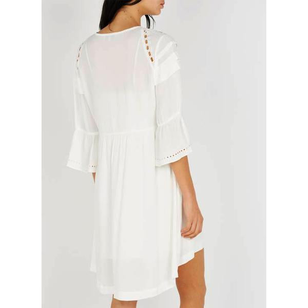 Colly Dress - White