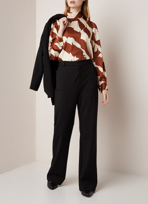 Distance Blouse - Tortoise Shell