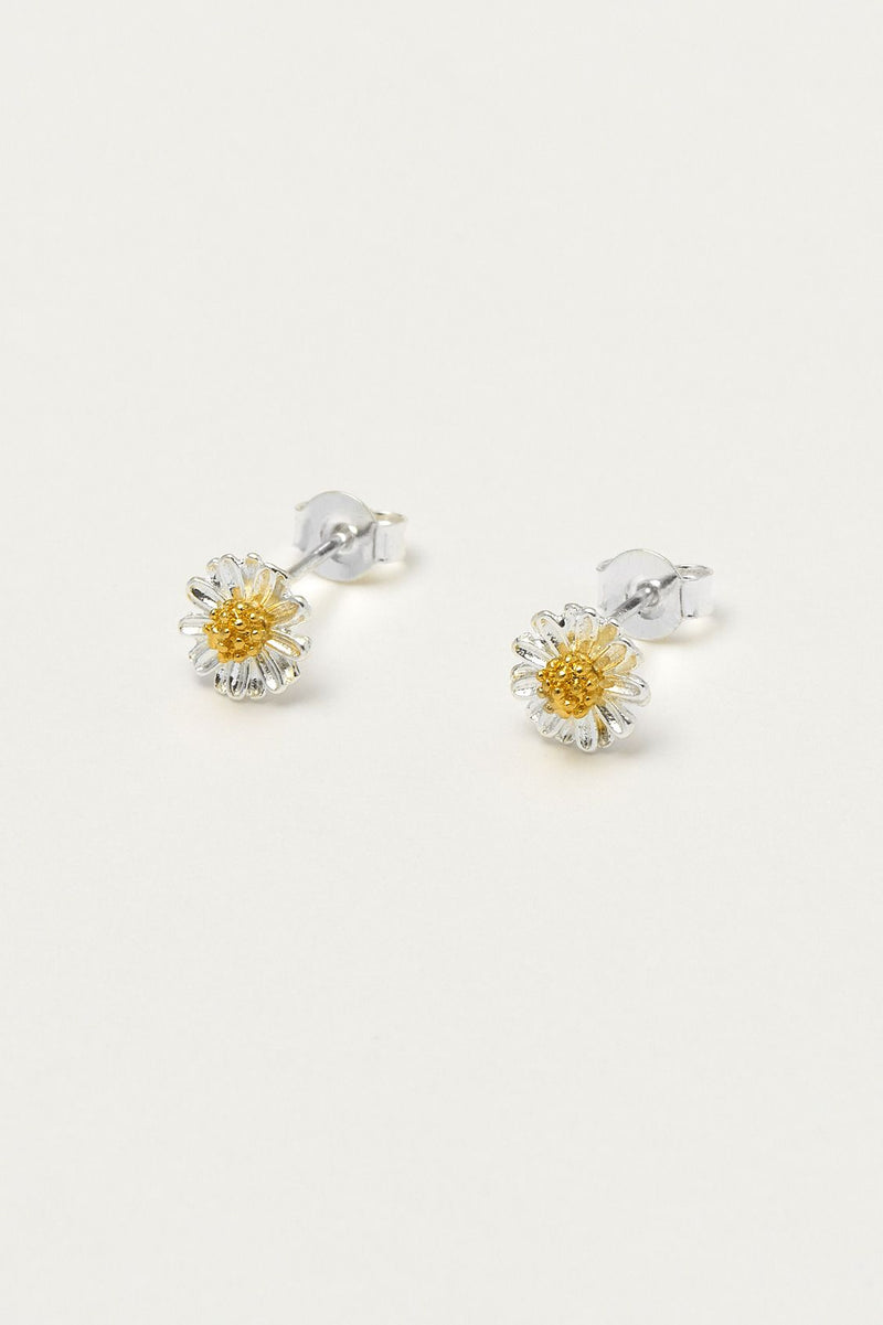 Wildflower Silver Plated Earrings