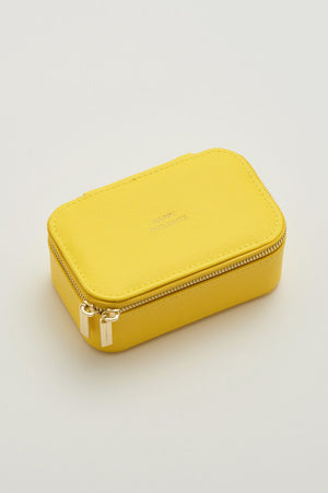Mini Jewellery Box - Yellow