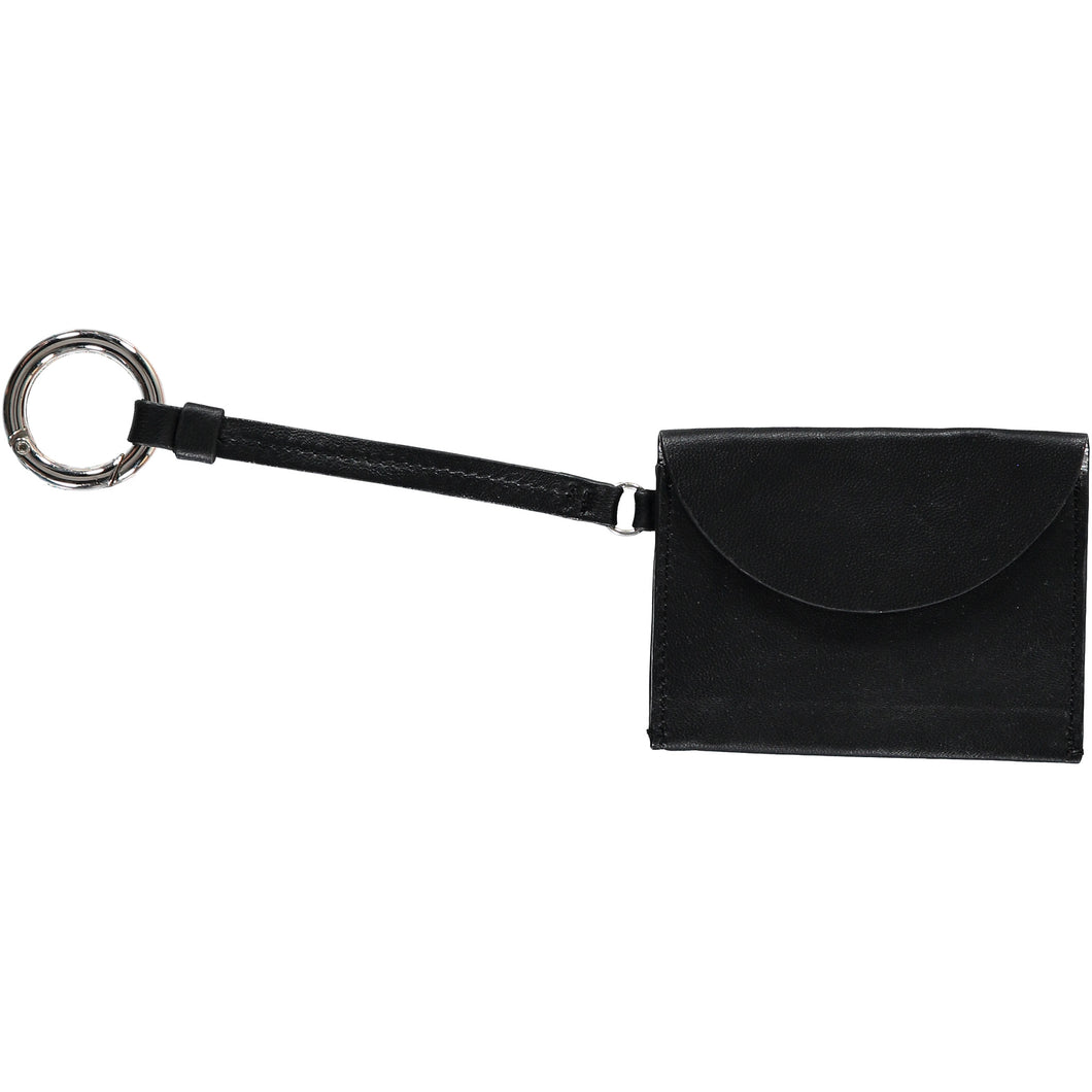 Hannah Card Holder - Black/Silver