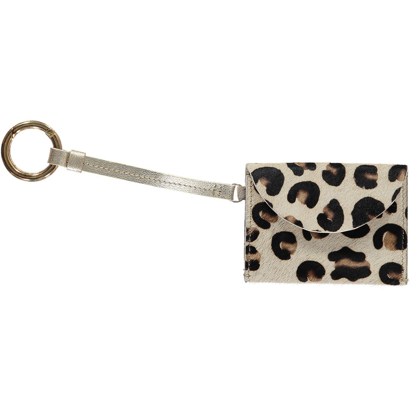 Hannah Card Holder - Leopard
