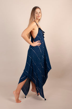 Larna Dress - Navy