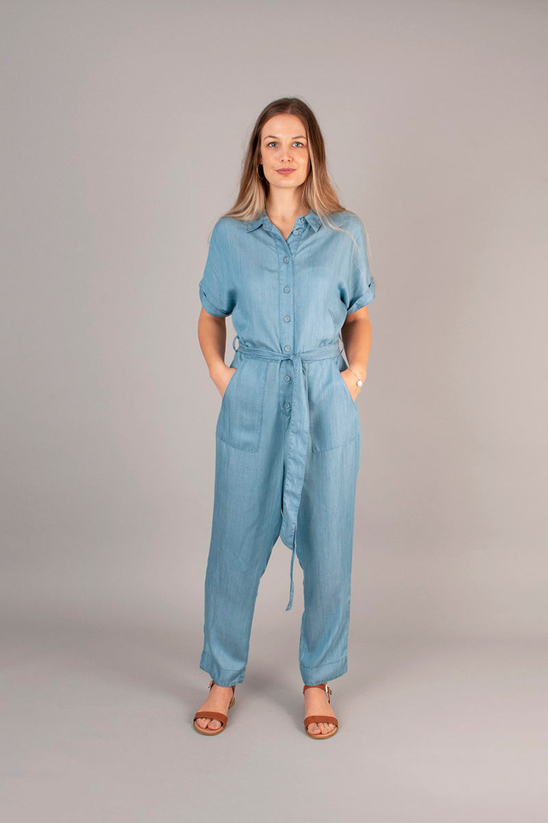 Nancy Jumpsuit - Tencel Denim