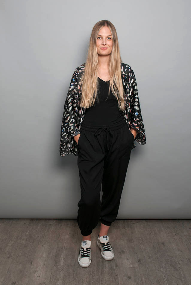 Silk Cape - Disco Leopard