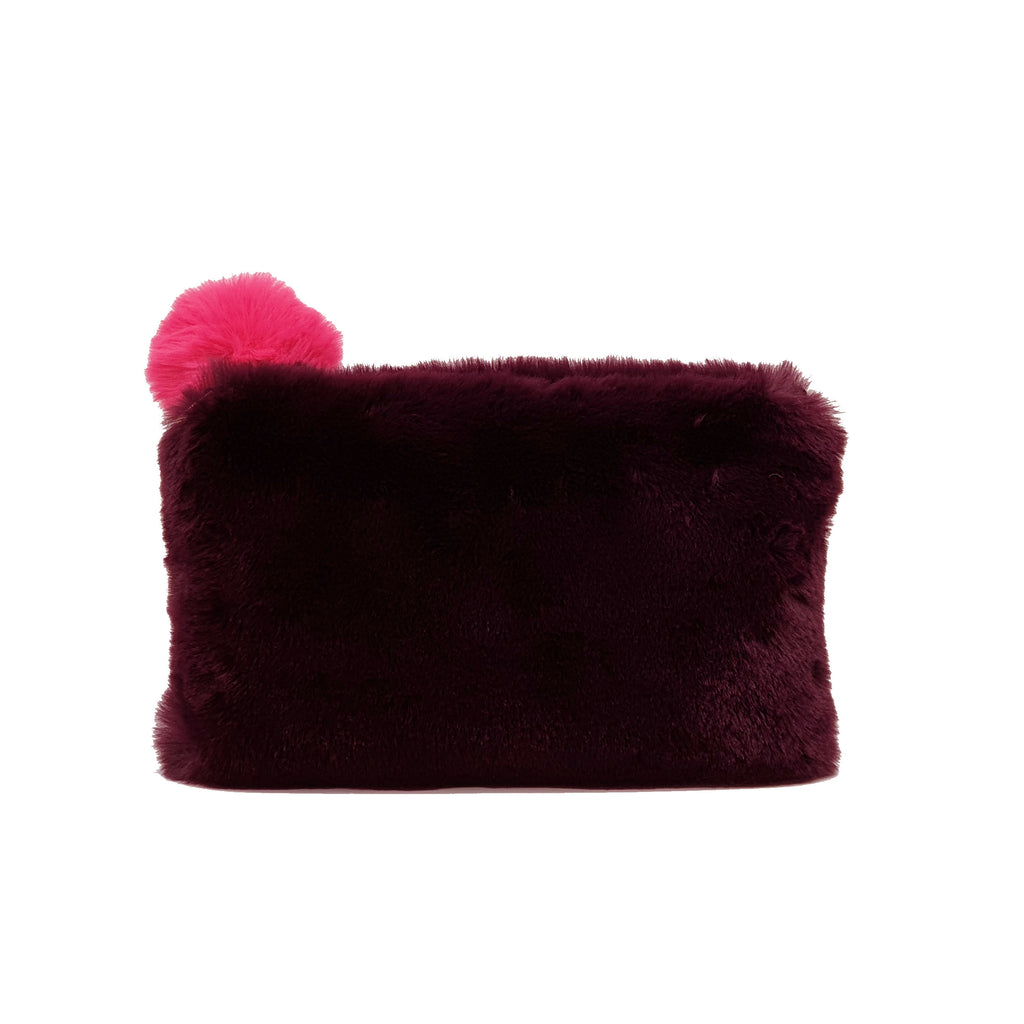 Stella Clutch - Burgundy