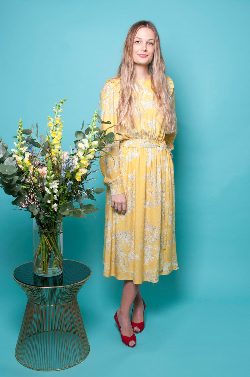 Ellie Dress - Mimosa Blossom