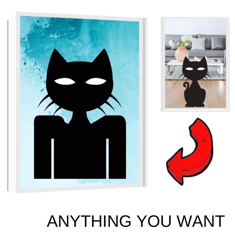 Art Your Cat Anything You Want - Custom (Your Pet) Portrait