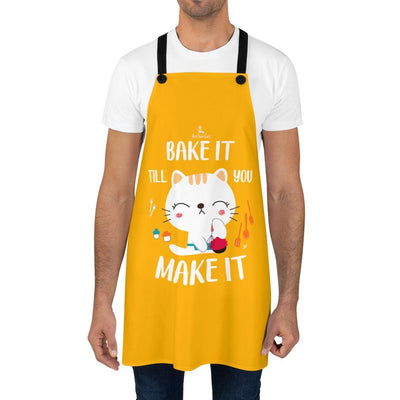 Art Your Cat Bake it Cat Apron