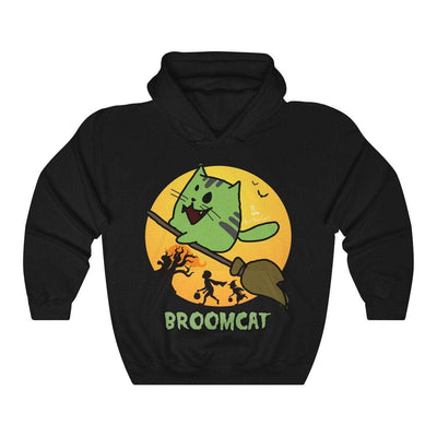 Art Your Cat Broomcat - Hoodie