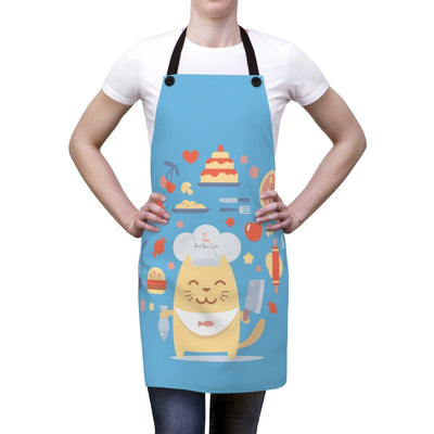 Art Your Cat Cat Chef Apron