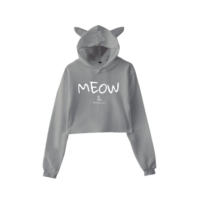 Art Your Cat Cat Ears Hoodie - Meow