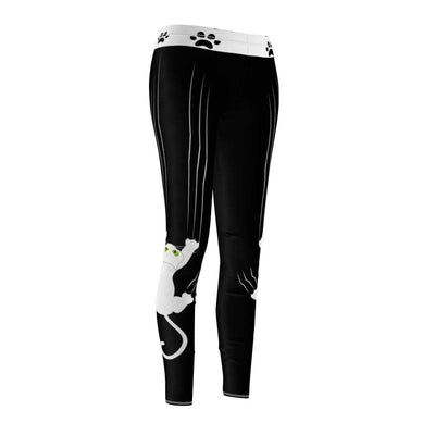 Art Your Cat Cat Falling Leggings