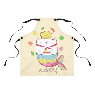 Art Your Cat Cat Mermaid Chef Apron