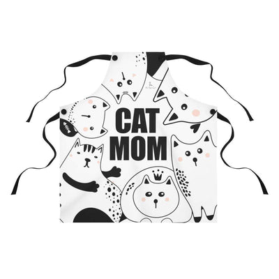 Art Your Cat Cat Mom Apron