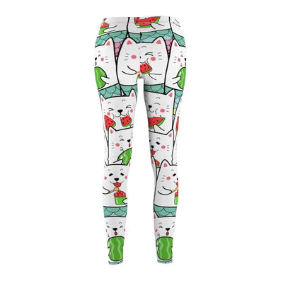 Art Your Cat Cat Watermelon Leggings