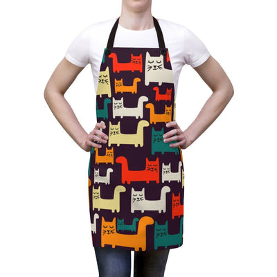 Art Your Cat Colorful Cat Apron