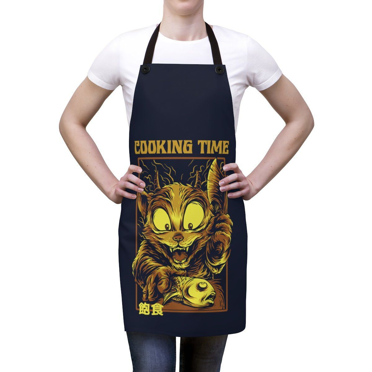 Art Your Cat Cooking Time with Cat Apron