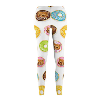 Art Your Cat Custom Donut Cat Leggings