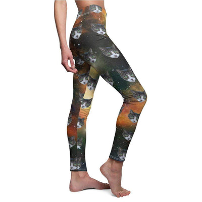 Art Your Cat Custom Galaxy Leggings