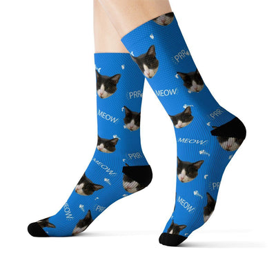 Art Your Cat Custom Meow Cat Socks