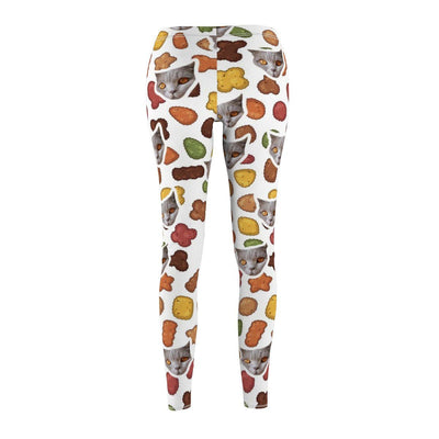 Art Your Cat Custom Pet Food Leggings