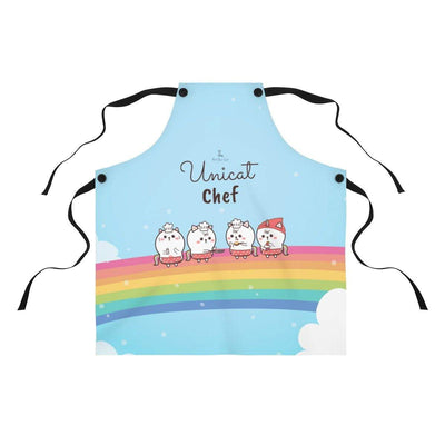 Art Your Cat Cute Unicat Chef Apron
