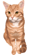 Art Your Cat DIGITAL ART FILE OF YOUR PET