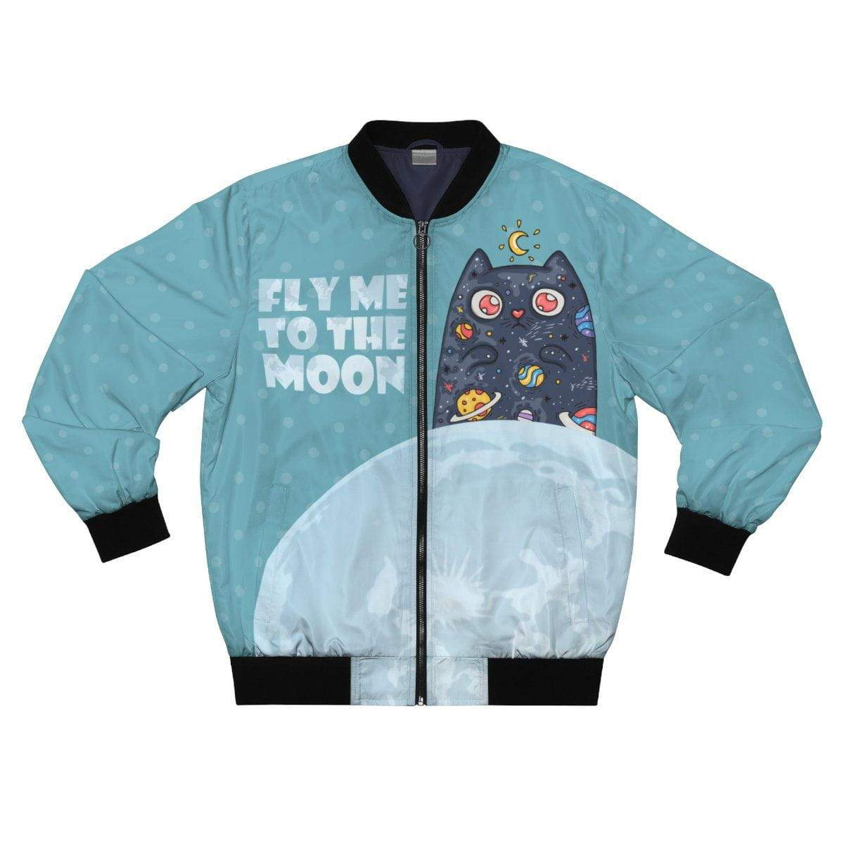 Art Your Cat Fly Me to the Moon Cat Jacket