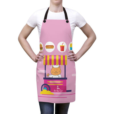 Art Your Cat Food truck Cat Apron
