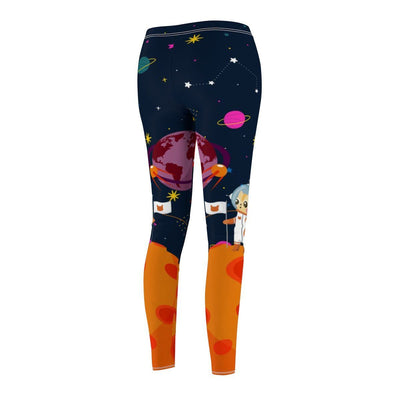 Art Your Cat Galaxy Cat Leggings