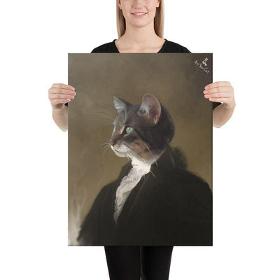 Art Your Cat GEORGE WASHINGTON - CUSTOM (YOUR PET) PORTRAIT