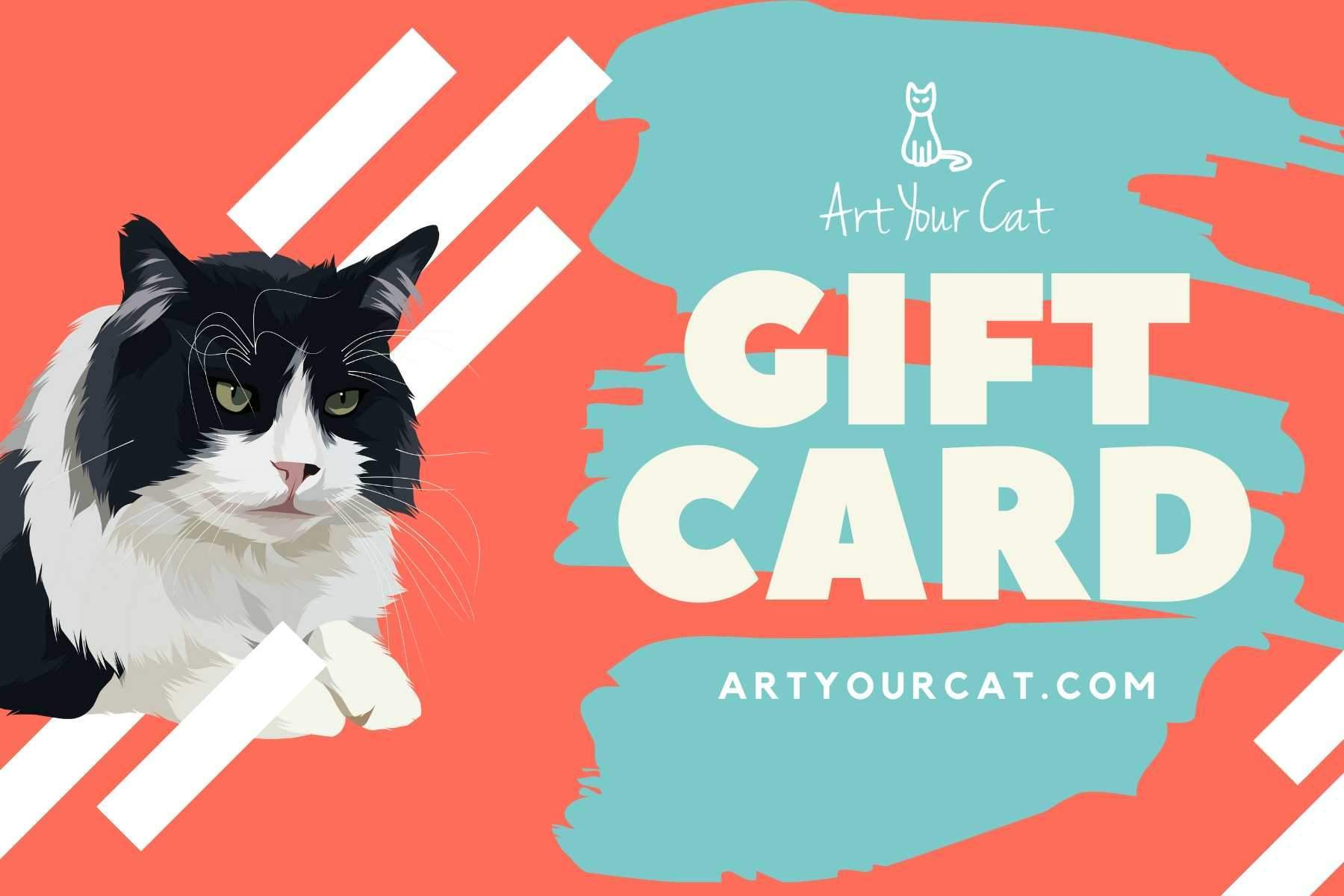 Art Your Cat Gift Card