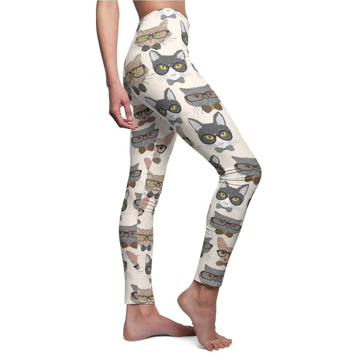 Art Your Cat Hipster Cats Leggings